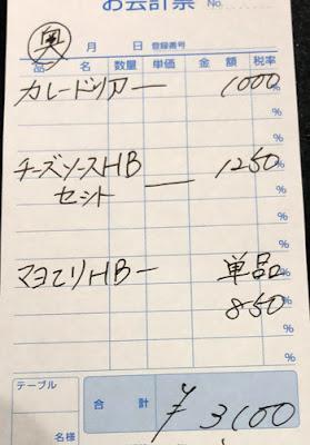 ハンバーグダイニングイケヒロ 2020/9/27 飲食レビューのレシート