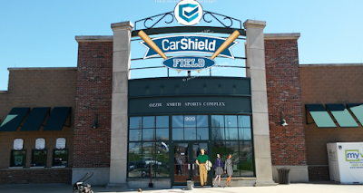 carshield field stadium rascals partner charles protection plans hughes naming rights employs employees county