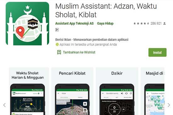 aplikasi muslim alarm adzan