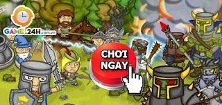 Chơi game thánh chiến zombie
