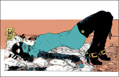 """Leone"" Art Print by Paul Pope x Nakatomi"