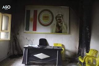 من يقف وراء حرق مكاتب المجلس الوطني الكردي ؟!