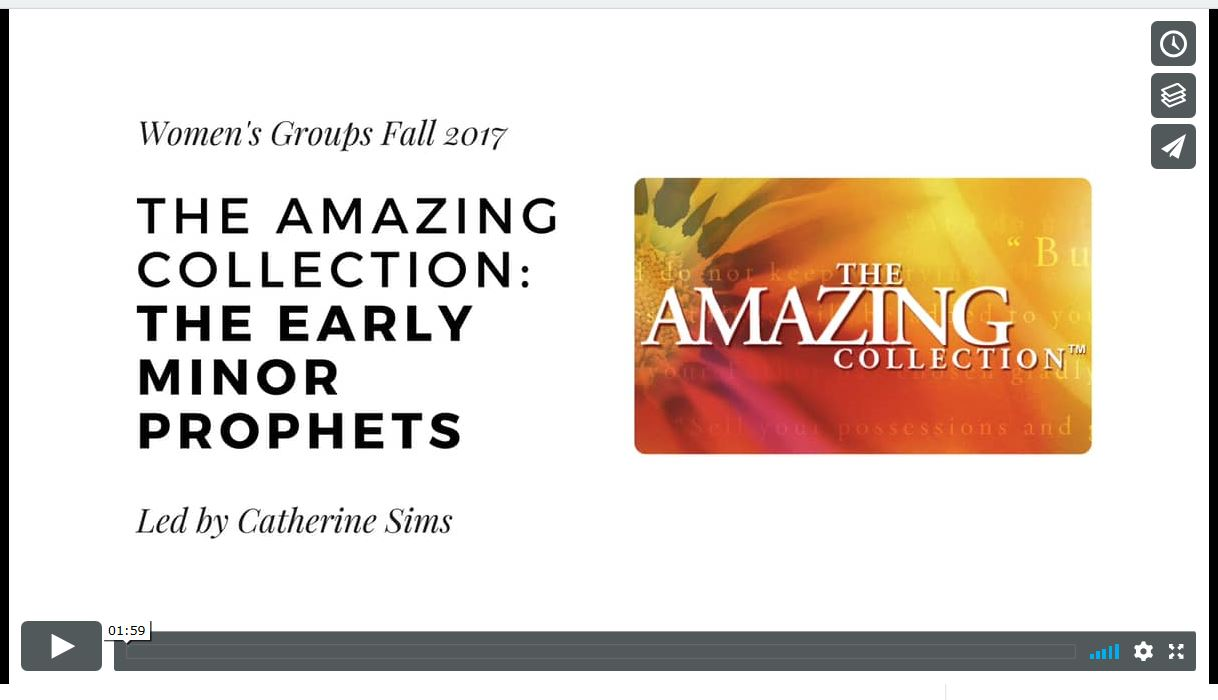 The Amazing Collection: The Early Minor Prophets