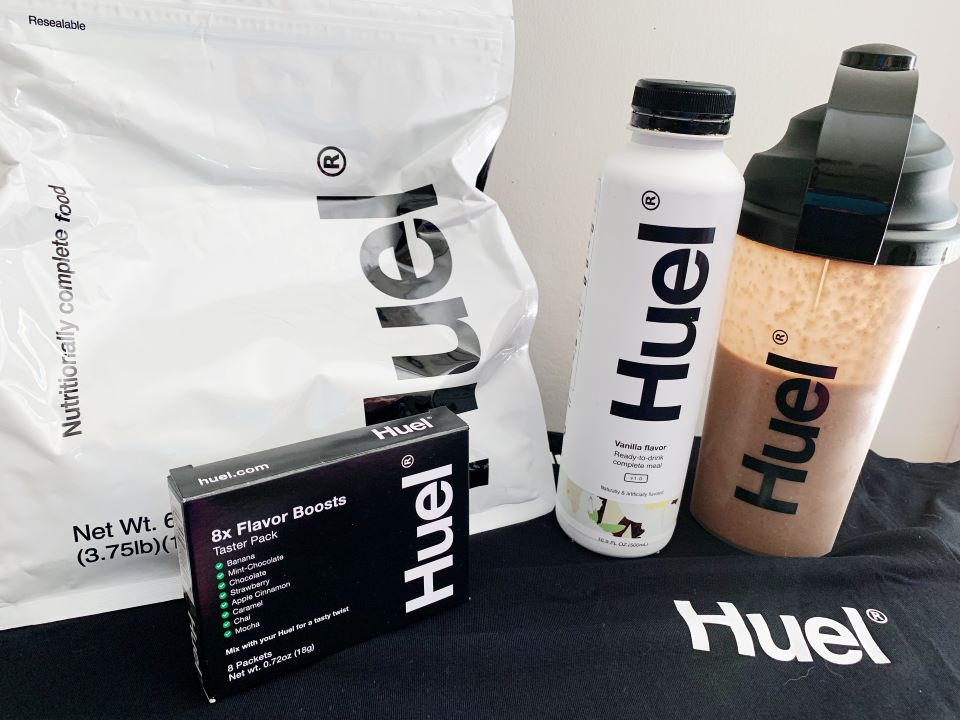 #ad Huel products for #review