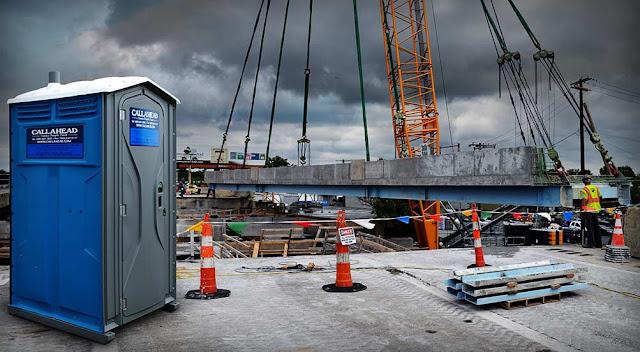 Construction Site Portable Toilet Rentals