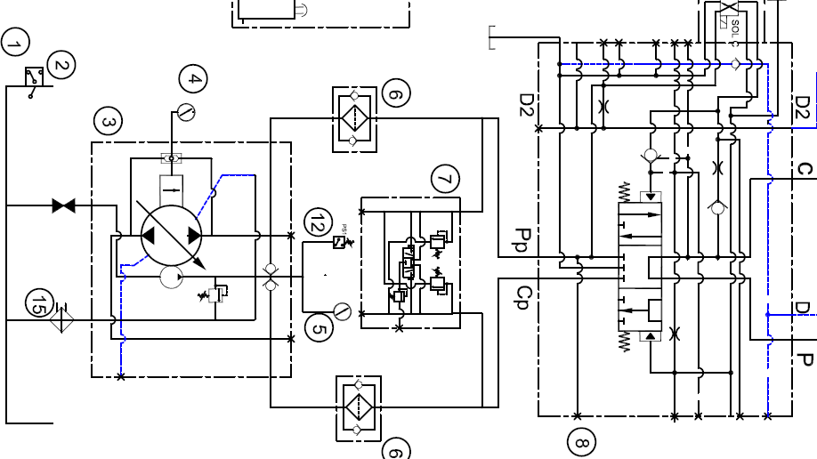 Hydraulic%2BDesign%2BSchematic H L Hydraulic Schematic Diagram on