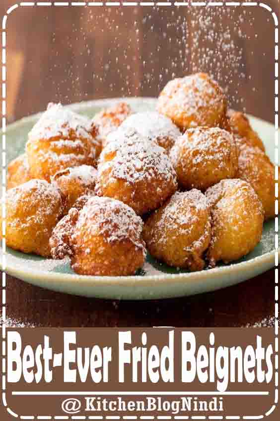 4.8★★★★★ | Here's how to make beignets—no yeast required. #BestEver #Fried #Beignets