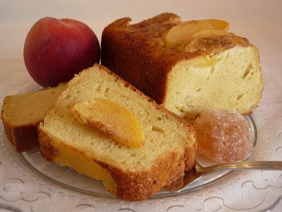 PLUM-CAKE DE MELOCOTÓN