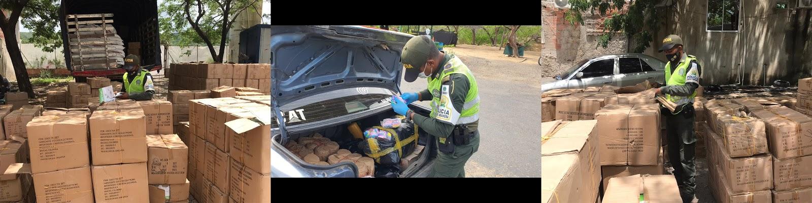 Matutes de elementos de cocina y de confecciones cayeron en La Guajira