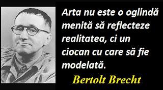 Maxima zilei: 10 februarie - Bertolt Brecht