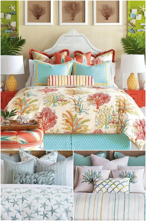 Coastal Luxury Cotton Bedding