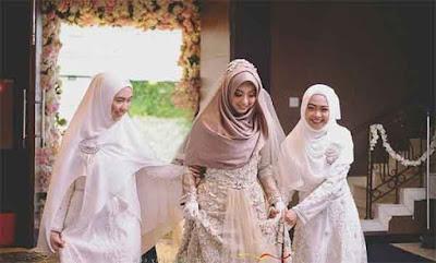 model kerudung pengantin 1