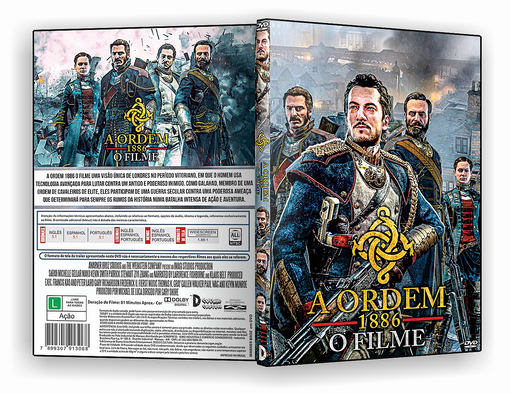 DVD – A Ordem 1886 O Filme – ISO