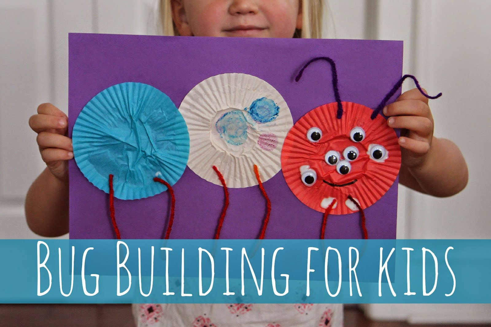 Toddler Approved Bug Building Craft For Kids
