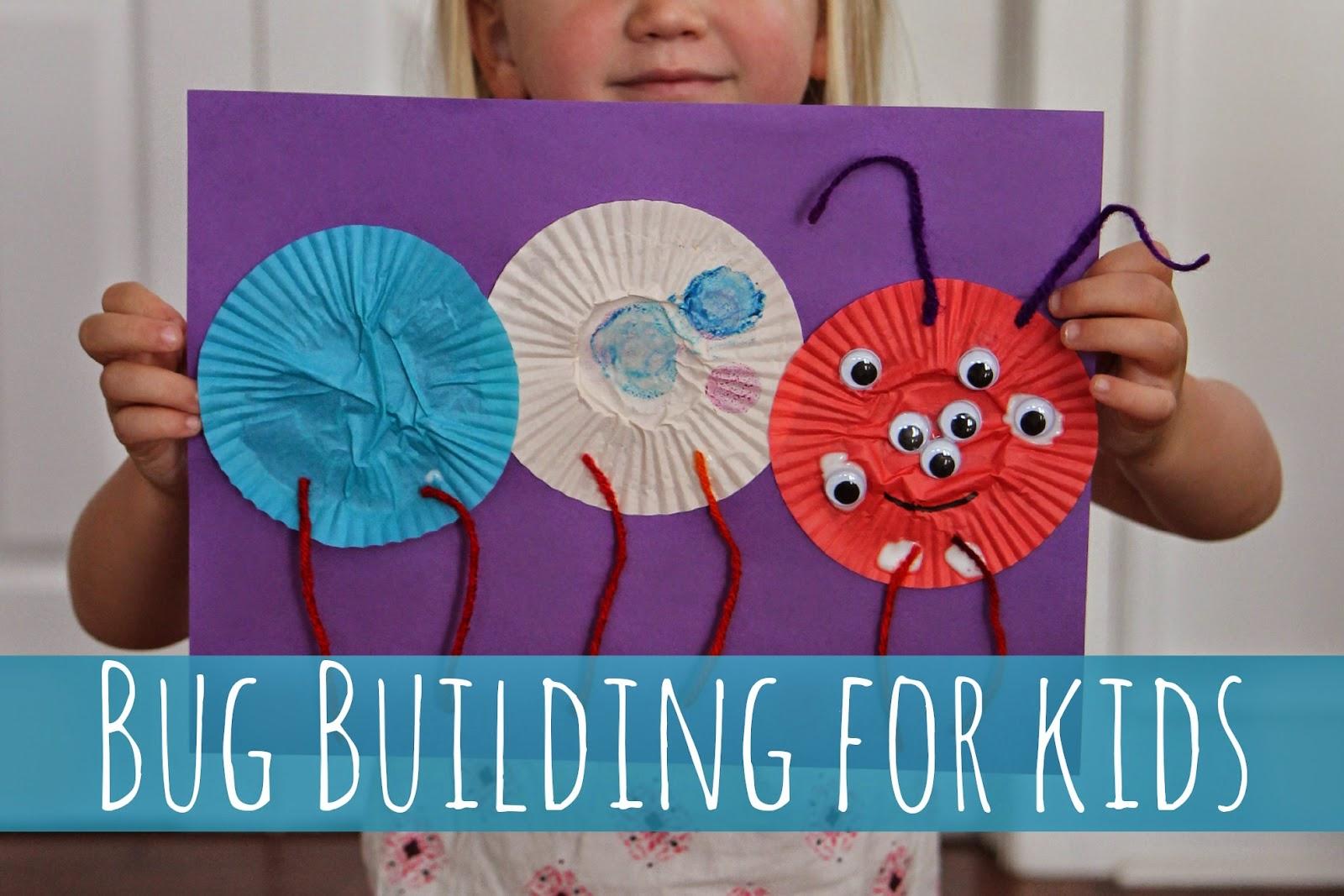 Toddler Approved Bug Building Craft For Kids