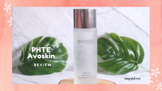 Review Perfect Hydrating Treatment Essence Avoskin