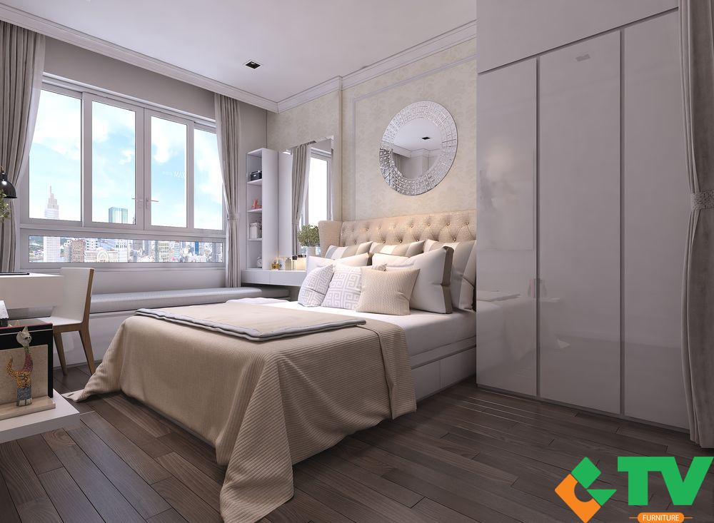 Thiết kế nội thất chung cư - phương án tham khảo dành cho khách hàng