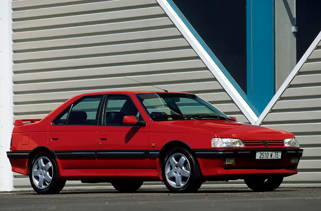 peugeot 405 car of the year