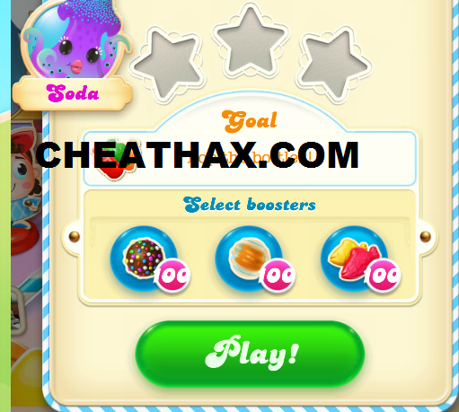 Candy Crush Soda Saga Cheat Unlimited Lives, Booster