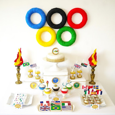 Olympics Inspired Party Ideas & Printables