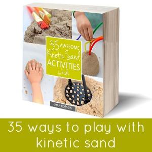 3d kinetic sand activities