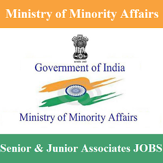 Ministry of Minority Affairs, Minority Affairs, New Delhi, Graduation, Associate, freejobalert, Sarkari Naukri, Latest Jobs, minority affairs logo