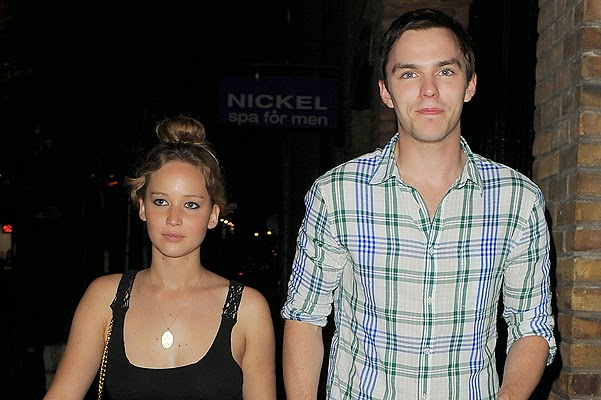 Jennifer Lawrence and Nicholas Hoult again separated