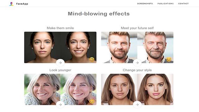 Face App aplikasi foto editor yang mengubah wajah jadi tua
