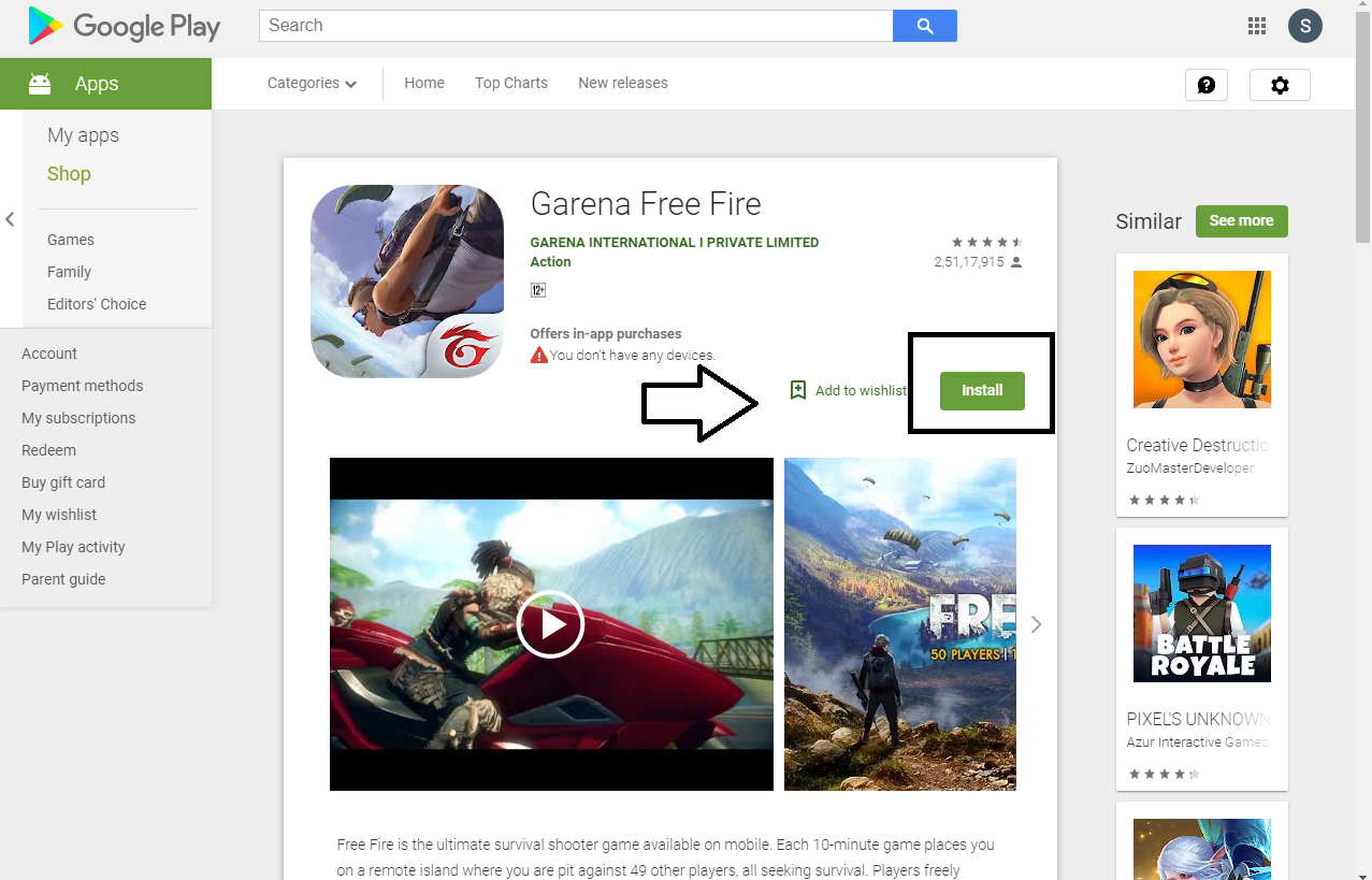 app download free fire