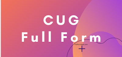 CUG full meaning