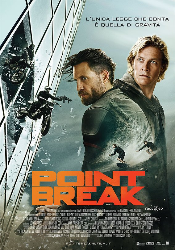 Point Break (2015) ปล้นข้ามโคตร HD พากย์ไทย