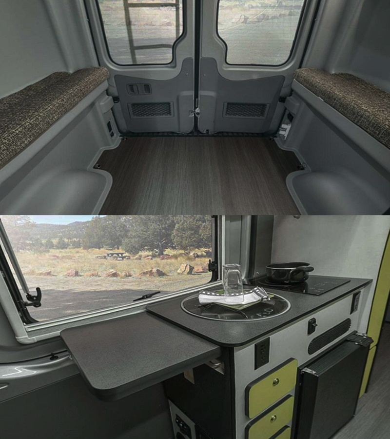 2018 Mercedes Winnebago 4X4 Revel RV Price and Interior