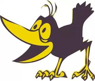 कबूतर और कौवा - Pigeon & Crow