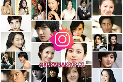 List of Official Korean 67 Actors / Actresses' Instagram Accounts