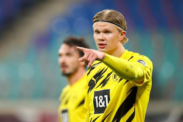 تقارير: تحرك بروسيا دورتموند لضم بديل هالاند في الصيف