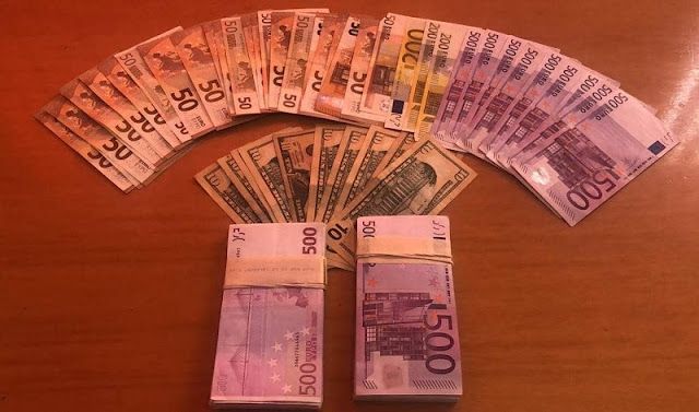 70-year old French citizen detained in Saranda after being caught with € 108 thousand undeclared