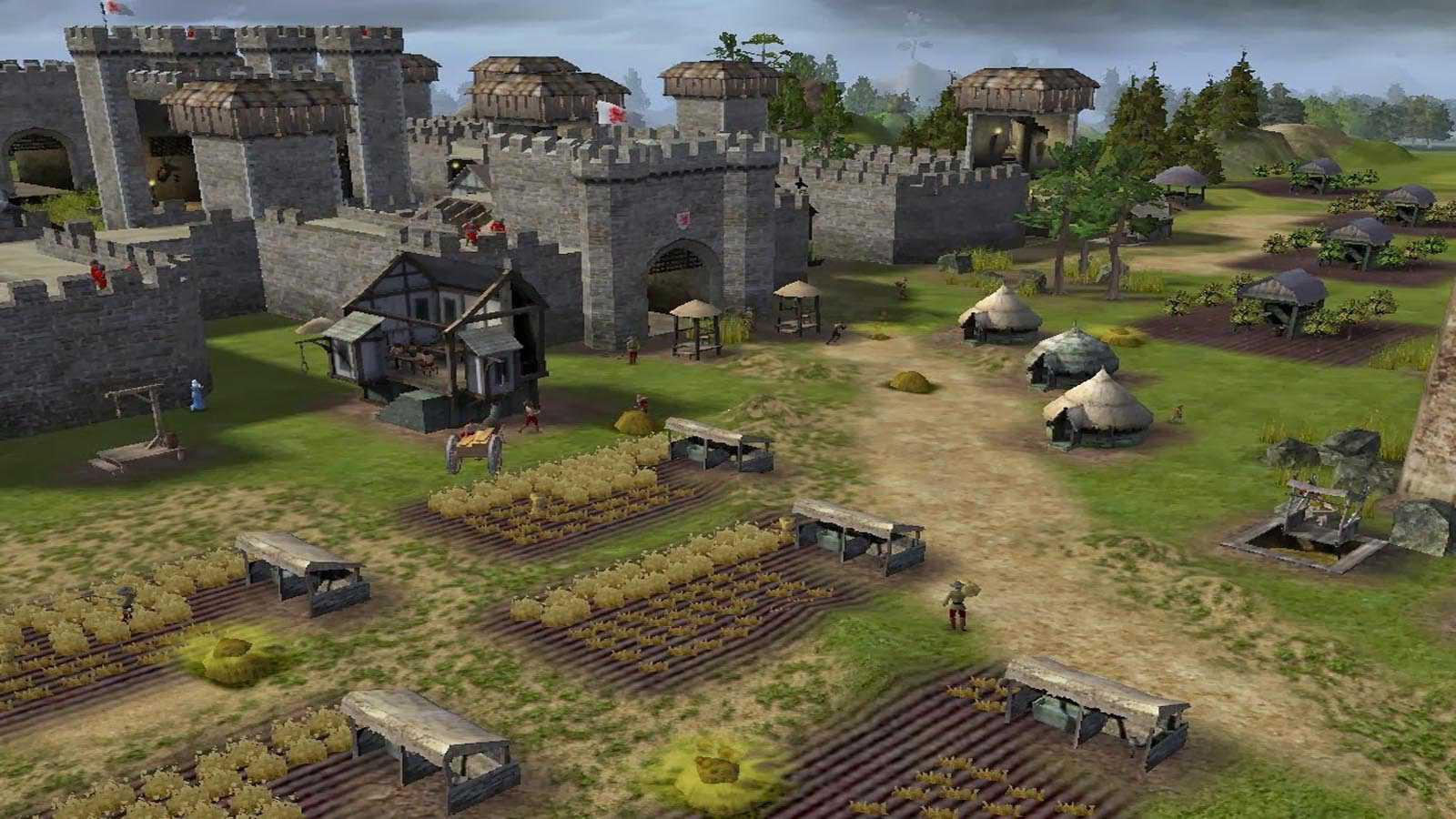 تحميل لعبة Stronghold 2 مضغوطة برابط واحد مباشر كاملة مجانا