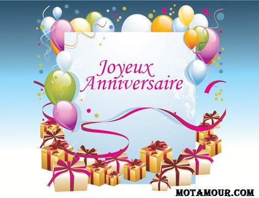 carte Messages souhaits joyeux anniversaire