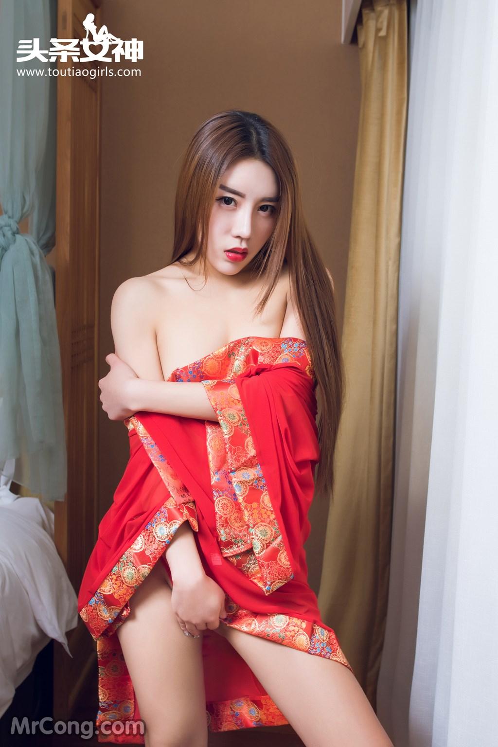 Image MrCong.com-TouTiao-2016-12-16-An-Su-Rui-001 in post TouTiao 2016-12-16: Người mẫu An Su Rui (安苏芮) (27 ảnh)