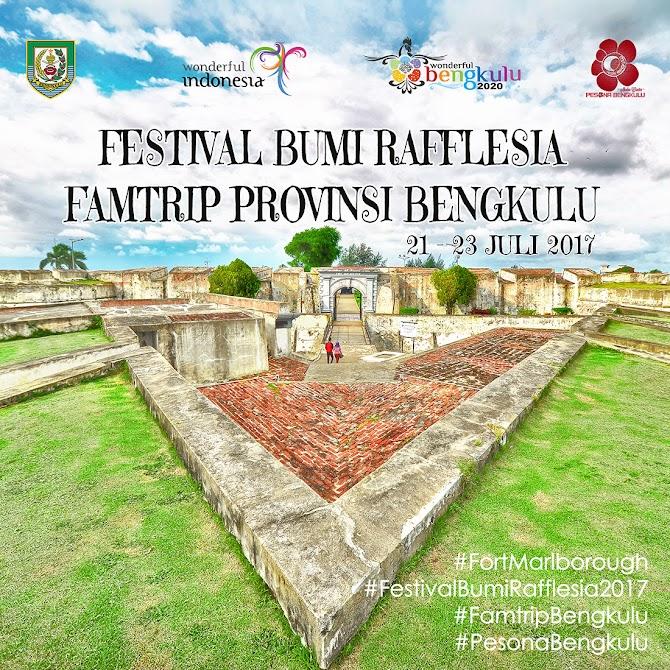 Agenda Kegiatan Blogger Pada Familiarization Trip Festival Bumi Rafflesia