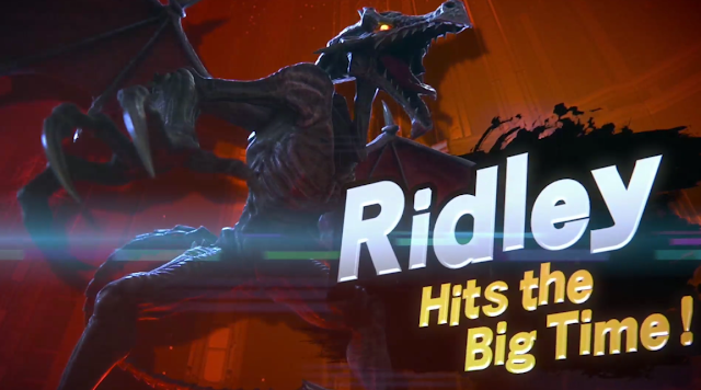 Super Smash Bros. Ultimate Switch Ridley reveal Hits the Big Time!