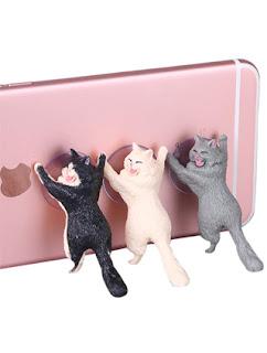 Cat Sucker Phone Holder Kickstand