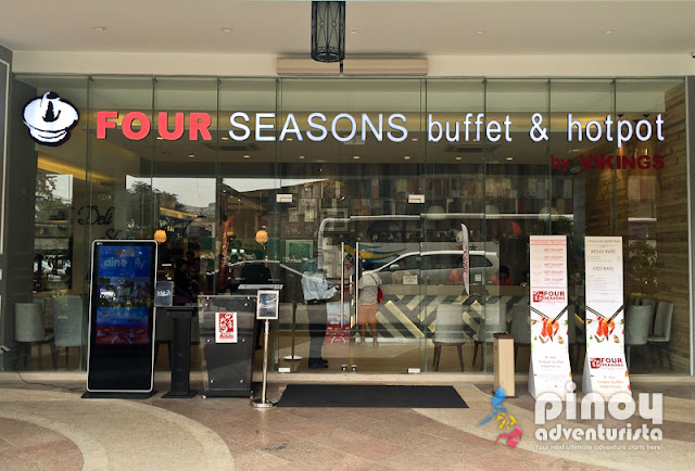 Four Seasons Buffet & Hotpot Restaurant Araneta Center Cubao Quezon City