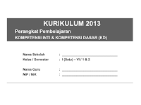 Download Pemetaan KD Kls 5 Semester 2 K13