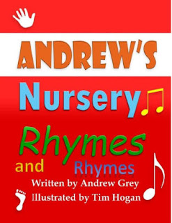 Nursery Rhymes, Childrens book, entertainment, andrew's nursery rhymes and rhymes, kids nursery book, Andrew grey author,