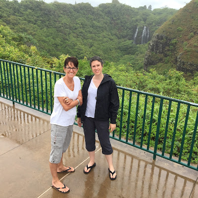 Denise and Lucinda in Kauai