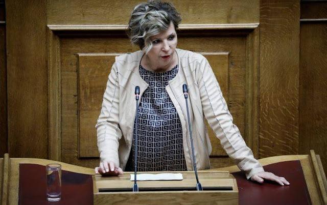 Όλγα Γεροβασίλη: «Η κυβέρνηση της ΝΔ έχει βαριά ευθύνη για την απουσία της Ελλάδας από τη Διάσκεψη για τη Λιβύη»