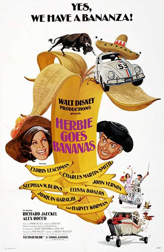 Herbie Goes Bananas 1980 480p 250MB