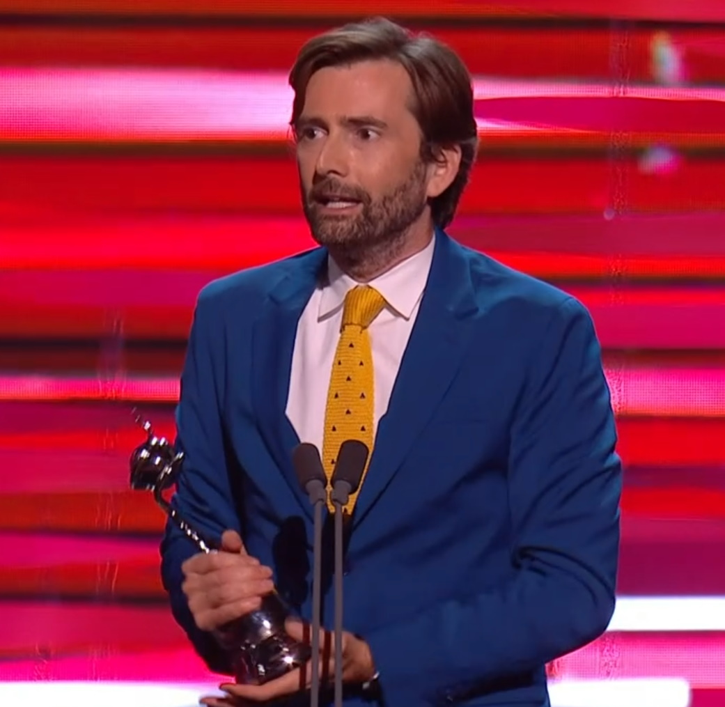 David Tennant attended the National Television Awards in London - 9th September 2021