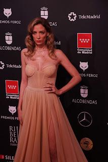 María Hervas en los Premios Feroz 2020